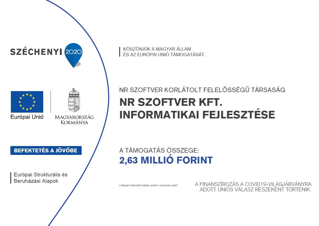 GINOP 1.2.9-20-2021 Hátrányos helyzetű településeken működő Vállalkozások támogatása